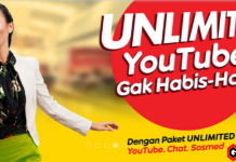 paket unlimited youtube